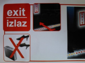 Exit JAL style